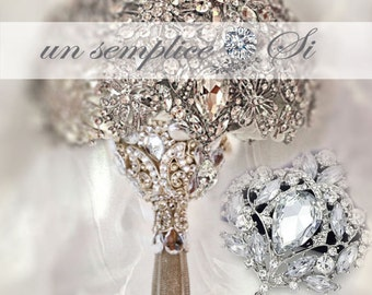 Brooch for Bouquet ,Customized Colors, Pendant Brooch