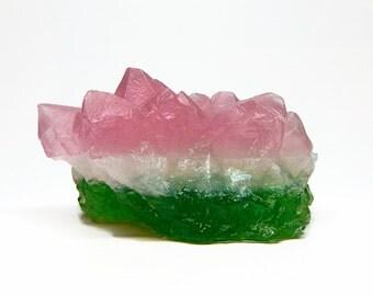 Watermelon Tourmaline Soap - Choose your Scent