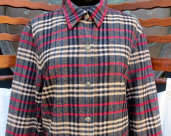 EVAN-PICONE Long Sleeve flannel TOP