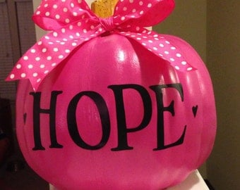 Breast Cancer Awareness, Breast Cancer Awareness Pumpkin