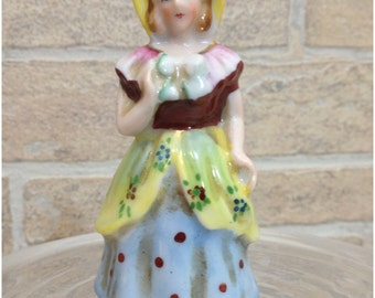 Peasant girl figurine - Made in Occupied Japan