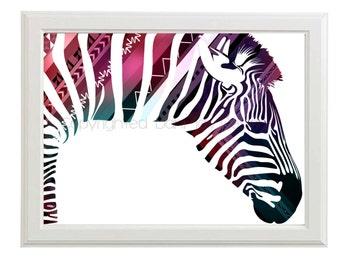 Zebra Prints,Zebra Wall art,Zebra Print,Zebra Nursery Decor - Zebra Decor - Zebra Printable - Printable Zebra - zebra Wall Prints