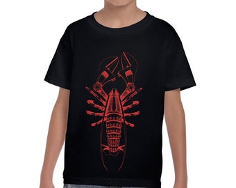 Boys Steampunk Lobster Shirt