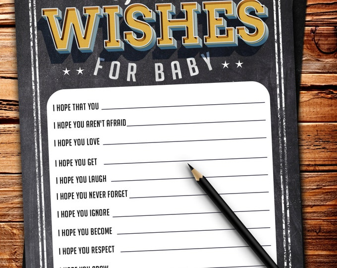 Baby is brewing, Coed baby shower, baby wishes card- Beer baby shower invitation- couples baby shower BBQ, retro, beer tasting