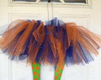 Halloween Door Hanger, Witch Door Hanger, Halloween Wreath, Halloween Decorations