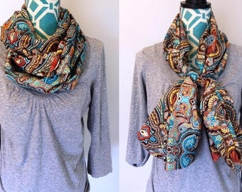 Homemade Scarves (Traditional or Infinity) with 7 Fabric