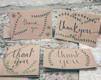 Thank You Card (Branches)