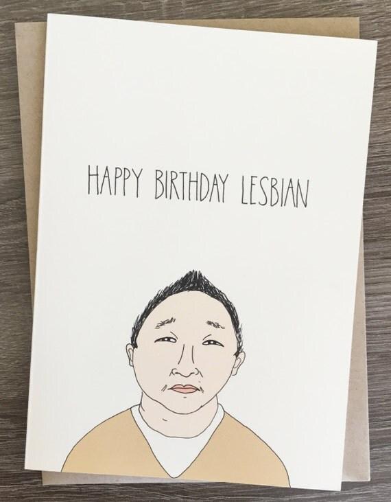 Birthday lesbians