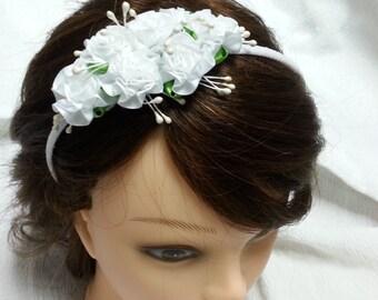 Flower girl flower crown, little girl flower crown.  hairpin for babi handmade Hair Accessories