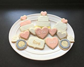 Wedding Shower Cookies (1 dozen)