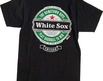 Chicago White Sox Shirt - Black - Sizes up to XXXXL