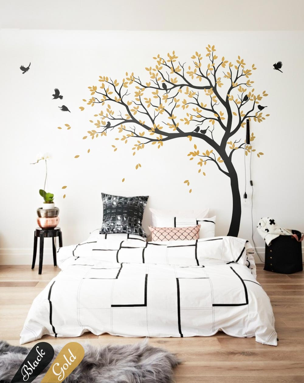 wall decal large tree decals huge tree decal nursery with. Black Bedroom Furniture Sets. Home Design Ideas