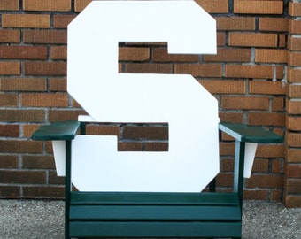 MSU  Adirondack Chair