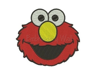 Embroidery design - Elmo embroidery design ~ INSTANT download machine embroidery pattern