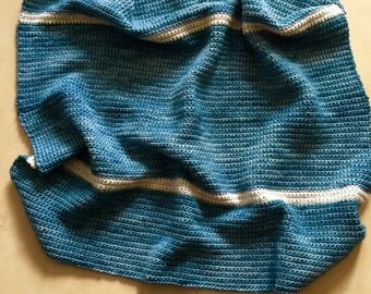 Sand and Sea Baby Blanket