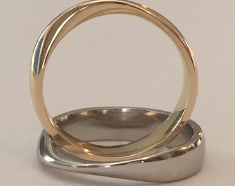 The Only Patent-Pending Mobius Ring
