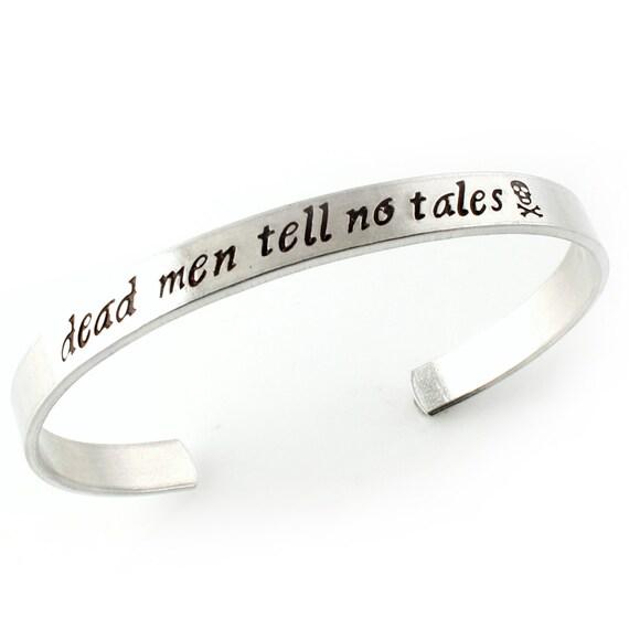 Pirates of the Caribbean Bracelet - Dead Men Tell No Tales - Disneyland Bracelet