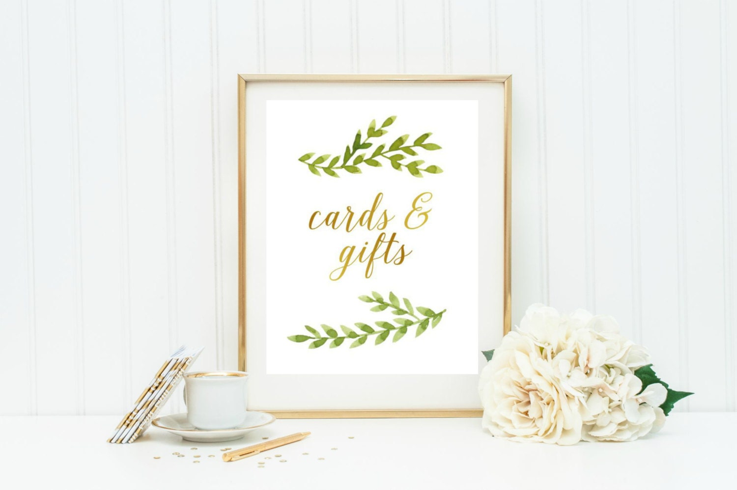 Wedding Gift Cards Online: Cards And Gifts Wedding Sign Printable Instant Download Card