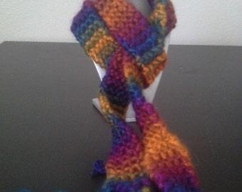 Skinny knit scarf or belt. Fall accessory