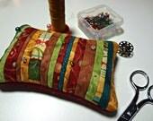 Handmade Pin Keep, Pincushion, Notion, Quilter, Seamstress, Gift