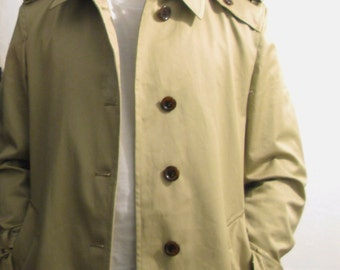 Single-Breated Trench Coat, Slim Cut, Size 38