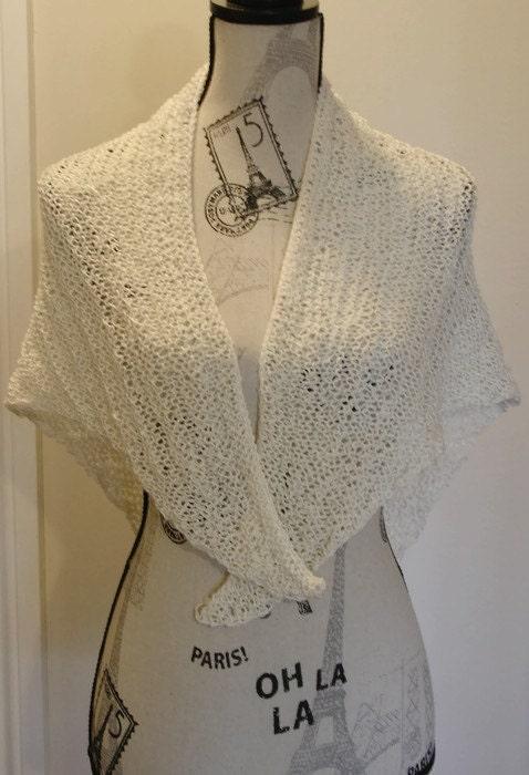 Super Easy Knitting Shawl pattern chart Knit Shawl reading