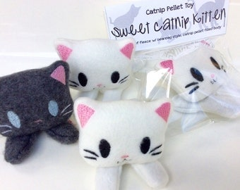Catnip Kitten | Handmade Cat Toy | Gift For New Cat | Cat Toy | Kawaii Cat Toy | Catnip Toy | Catnip | Cat Lady Gift | Cat Gift | Cat Plush