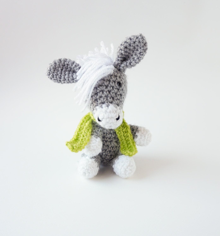 How To Increase Amigurumi Pattern : Amigurumi PATTERN Crochet Donkey Amigurumi Pattern-Amigurumi