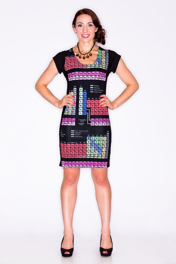 Periodic Table Dress Periodic Elements Dress Chemistry By