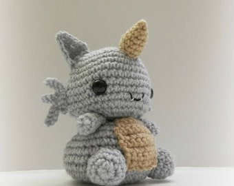 Crochet Rhydon Inspired Chibi Pokemon