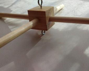 Baby Mobile, wood frame, crib mobile, mobile frame - DIY Frame KIT