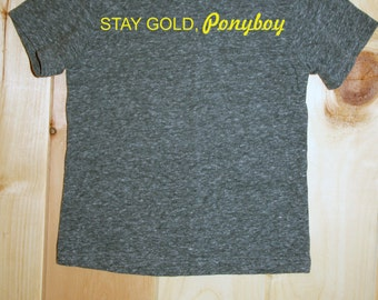 Stay Gold Ponyboy Tee
