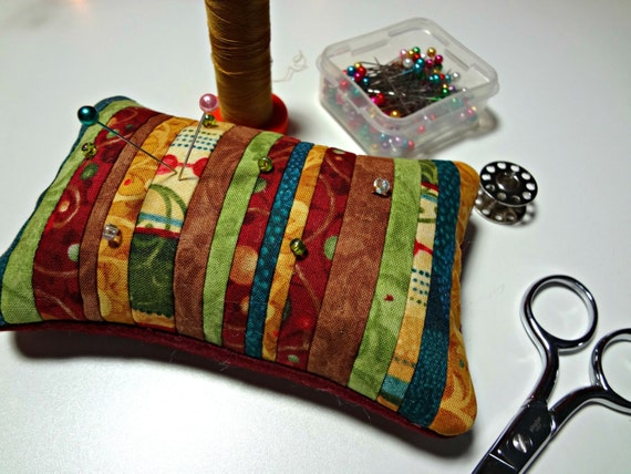Pin Keep, Pincushion, Notion, Quilter, Seamstress, Sewing Gift, Sewing Accessory, Handmade