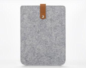 iPad Mini Cover - iPad Mini 2 Case - Felt and Leather Case for iPad