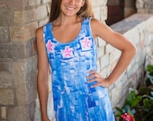 Hawaii Dress - Beach Cover Up - Resort Wear - Hawaiian Dress - Plus Size Sun Dress - Cotton Sun Dress - Plus Size Dress  - Cotton Cover Up