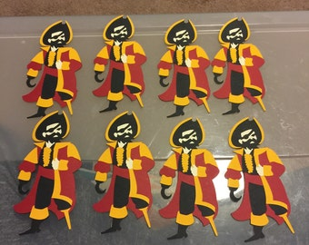 3 pcs Pirate Centerpieces