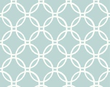 Peel and Stick Blue and White Links Wallpaper NU1654 - Sold by the Yard