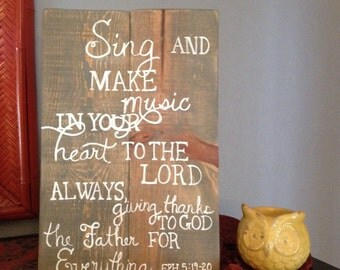Sing and Make Music in Your Heart