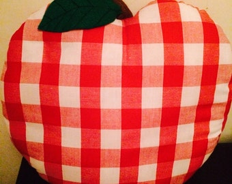 Apple shaped cushion