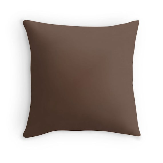 Dark Brown Throw Pillow : Brown Pillow Brown Throw Pillow Brown Decorative Pillow
