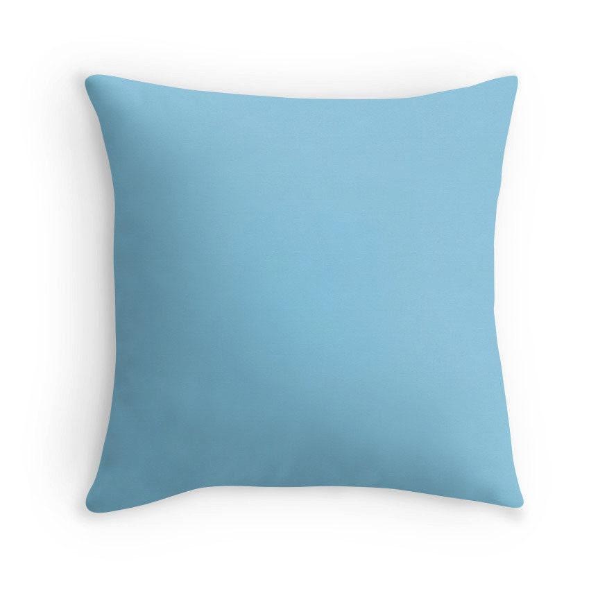 Throw Pillows Blue : Light Blue Pillow Blue Throw Pillow Blue Decorative Pillow