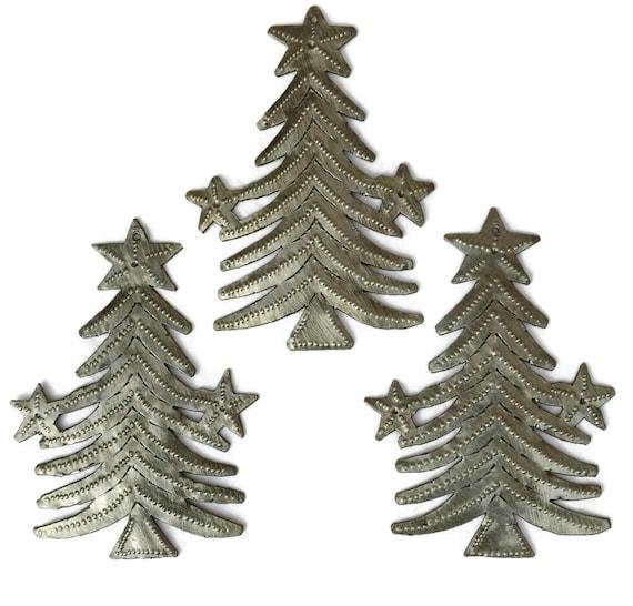 Star Christmas Tree Ornament (set of 3)