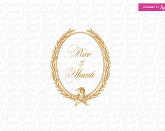 luxury wedding monograms
