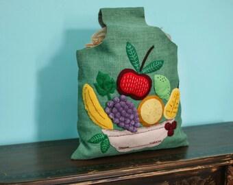 Vintage Fruit Tote..... Yummmmm.