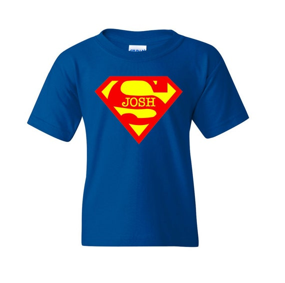 personalized superman t shirt superman inspired shirt