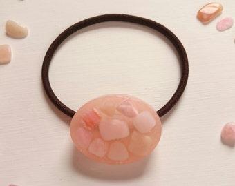 Hair Tie Pink Opal...