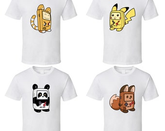 Game Boy Animals - Choose a Character - Cute White T-Shirt