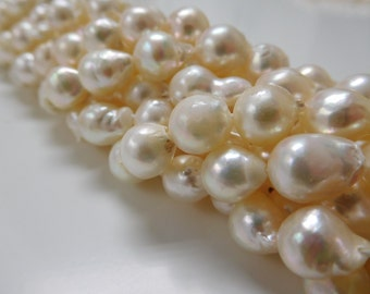 7-8mm Baroque Akoya Pearl Necklace