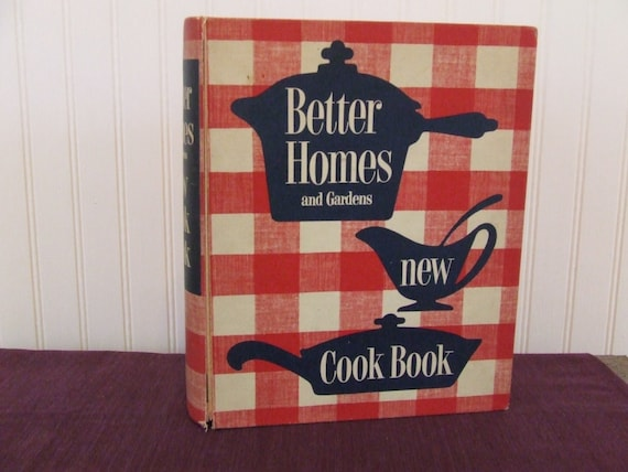 VINTAGE 1953 BETTER HOMES AND GARDENS NEW COOKBOOK 1ST EDITION HARDCOVER