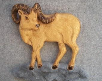 Ram Wall Sculpture